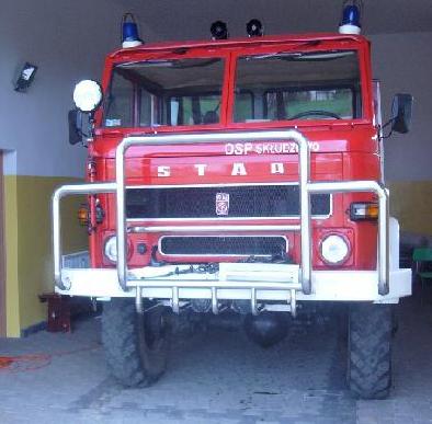 Samochód ratowniczo-gaśniczy